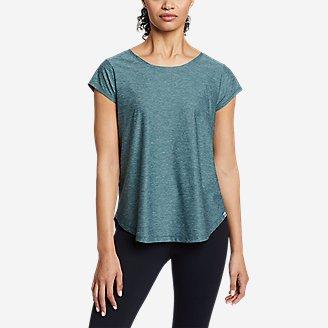 Thumbnail View 1 - Women's Inertia Cross-Back T-Shirt