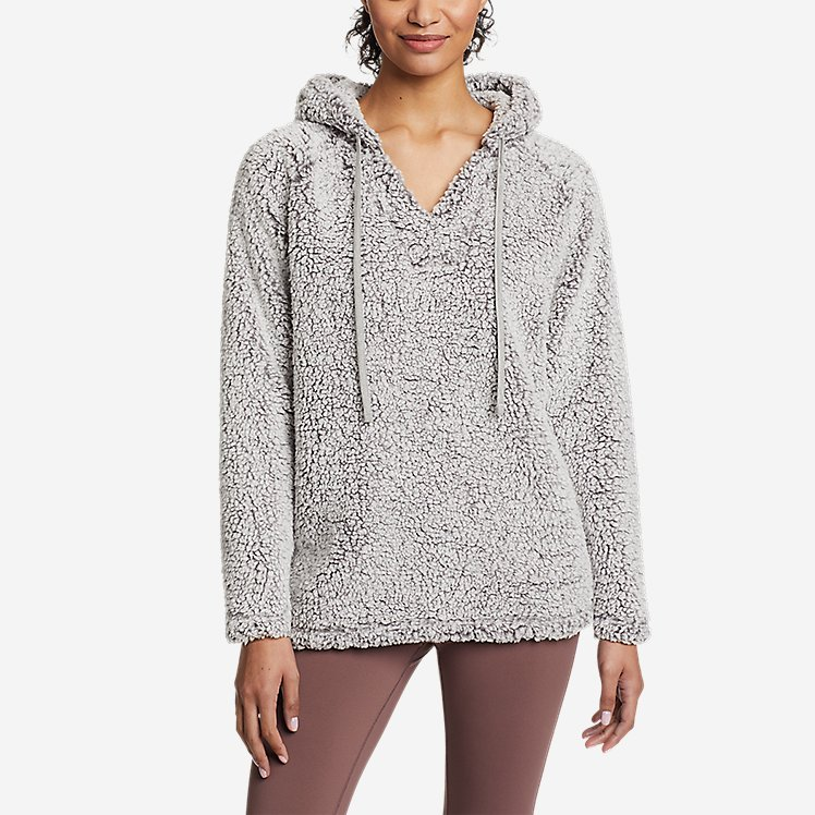 Women's Campfire Plush Easy Pullover Hoodie large version