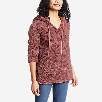 Thumbnail View 1 - Women's Campfire Plush Easy Pullover Hoodie