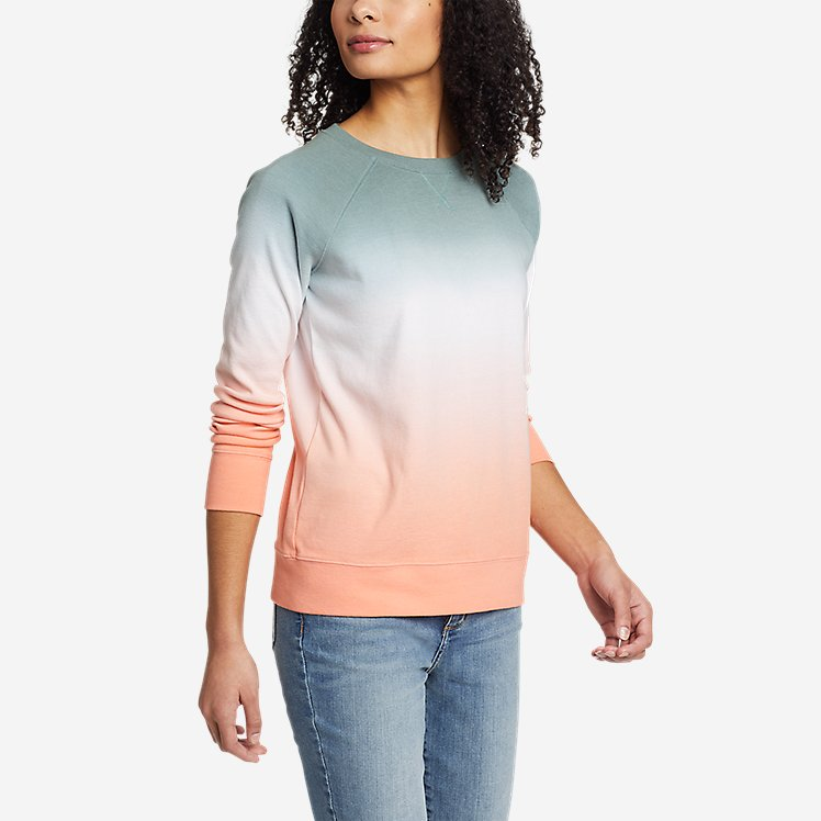 Women's Legend Wash Sweatshirt - Dip Dye large version