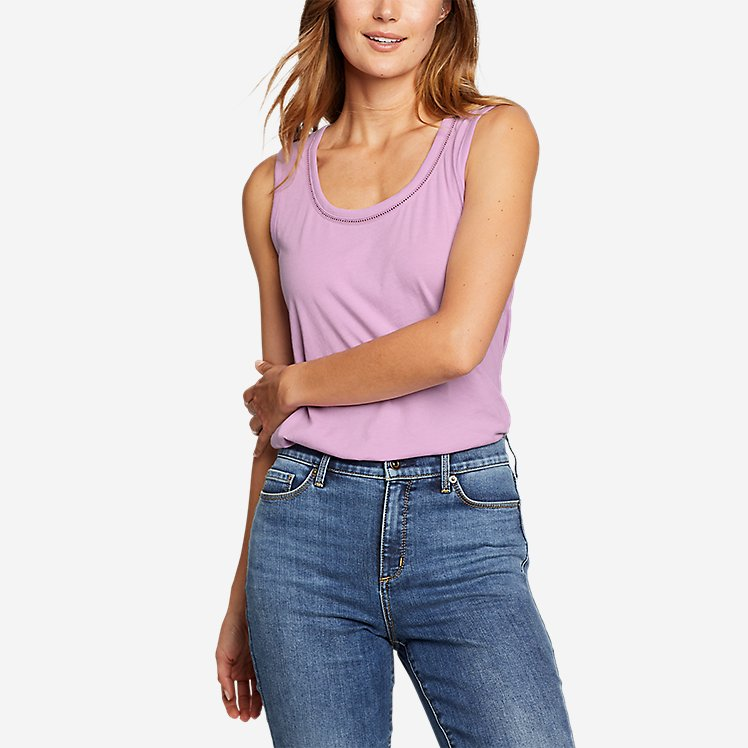 Women's Coast and Climb Ladder-Lace Tank Top large version
