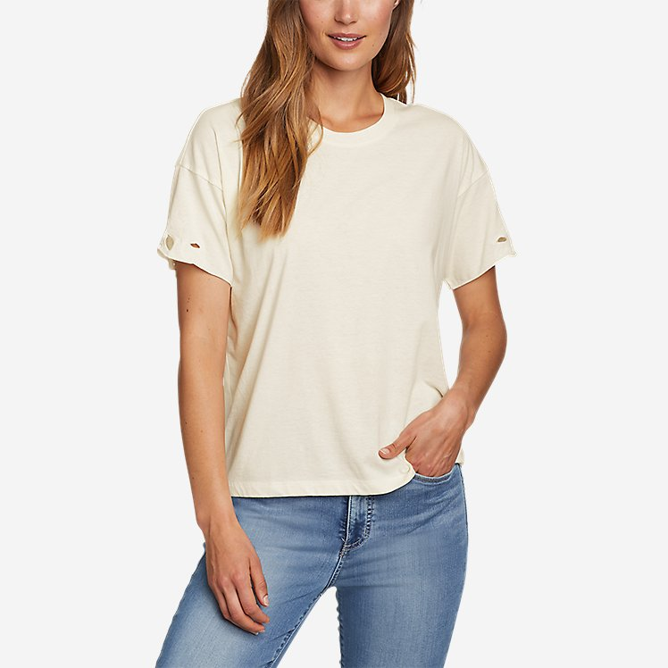 Women's Coast and Cllimb Short-Sleeve Lace T-Shirt large version