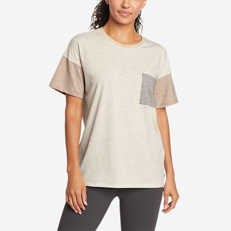 Women's Coast and Climb T-Shirt - Color Block large version