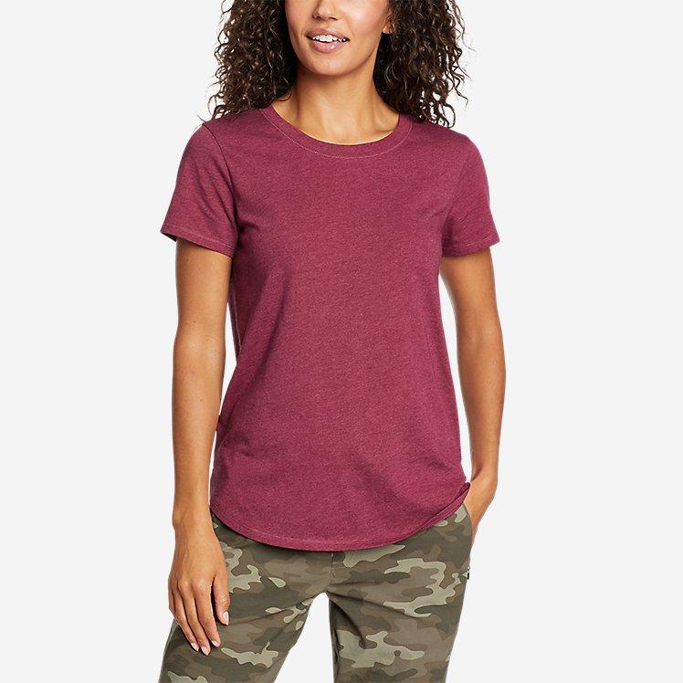 Women's Coast and Climb Short-Sleeve Ringer T-Shirt large version