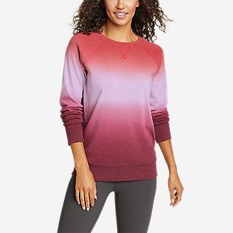 Thumbnail View 1 - Women's Legend Wash Sweatshirt - Dip Dye