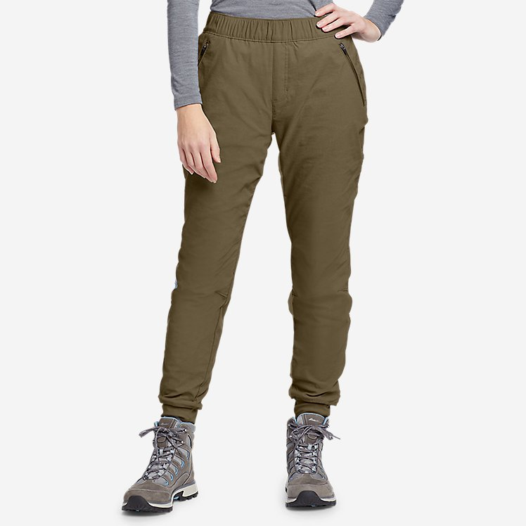 Women's Rainier Fleece-Lined Jogger Pants large version