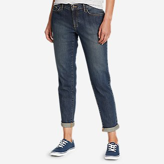 Thumbnail View 1 - Women's Boyfriend Slim Jeans