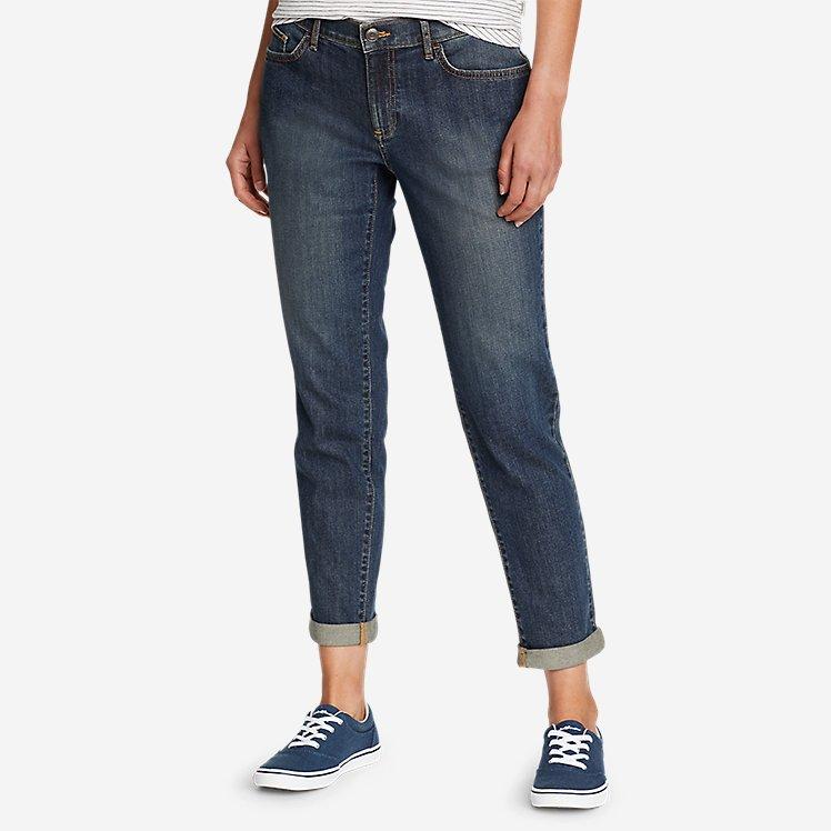 Women's Boyfriend Slim Jeans large version