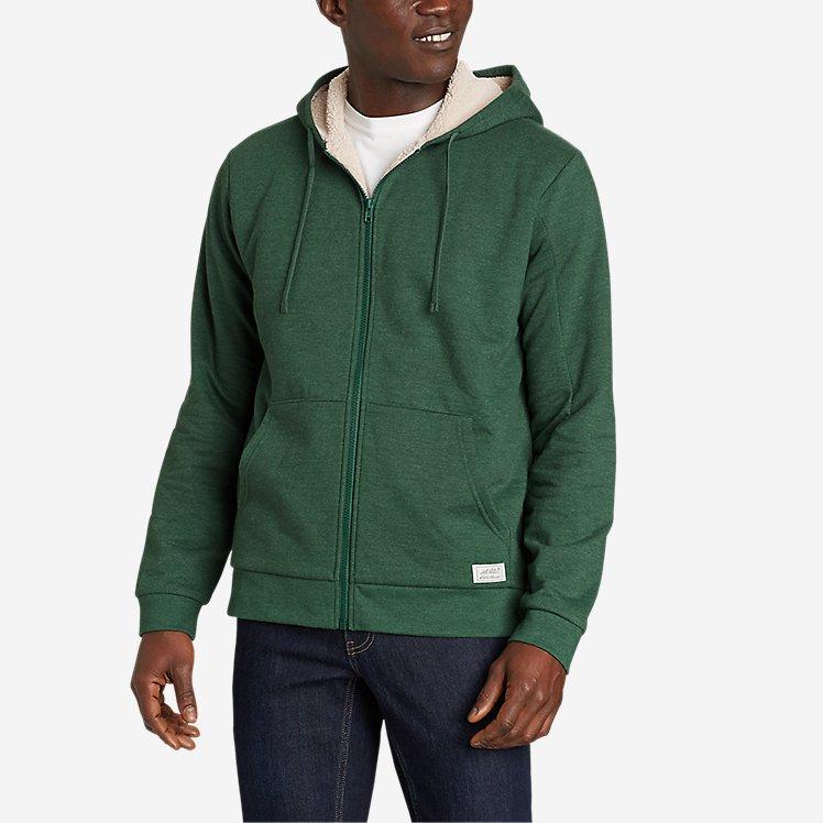 Men's Cascade Fleece Full-Zip Sherpa-Lined Hoodie large version