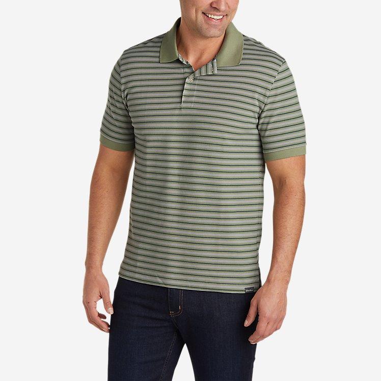 Men's Field Pro Short-Sleeve Polo Shirt - Stripe large version