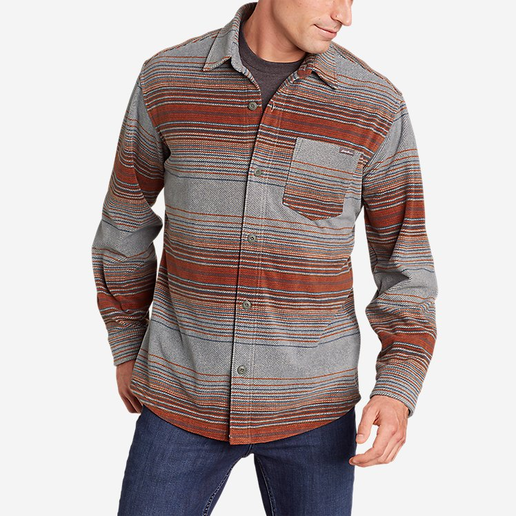 Men's Eddie's Fleece Shirt large version