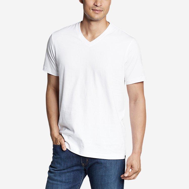 Men's Eddie's Short-Sleeve V-Neck T-Shirt large version