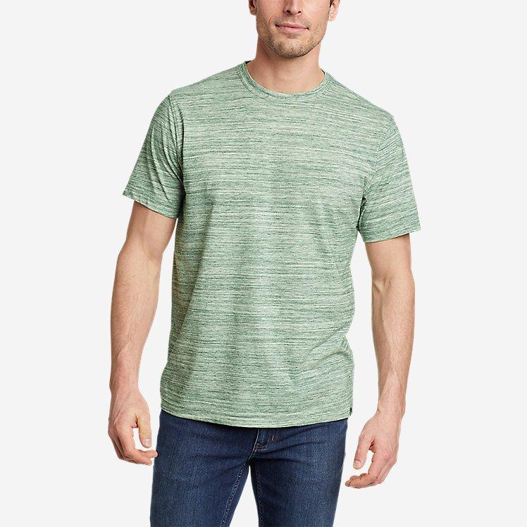 Men's Eddie's Short-Sleeve Space-Dye Crew T-Shirt large version
