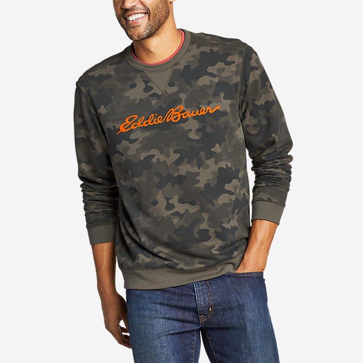 Men's Everyday Fleece Logo Crewneck Sweatshirt large version