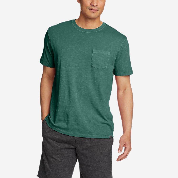 Men's Riverwash Short-Sleeve Slub Crew T-Shirt large version
