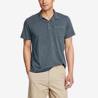 Thumbnail View 1 - Men's Riverwash Short-Sleeve Slub Polo Shirt