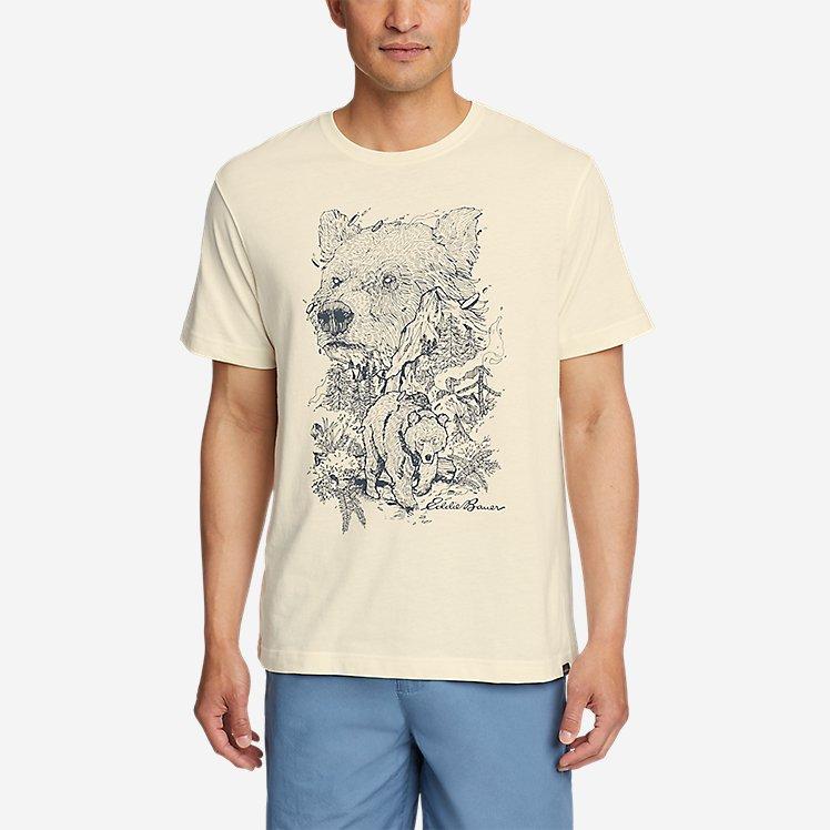 Men's Graphic T-Shirt - Bear Scene large version