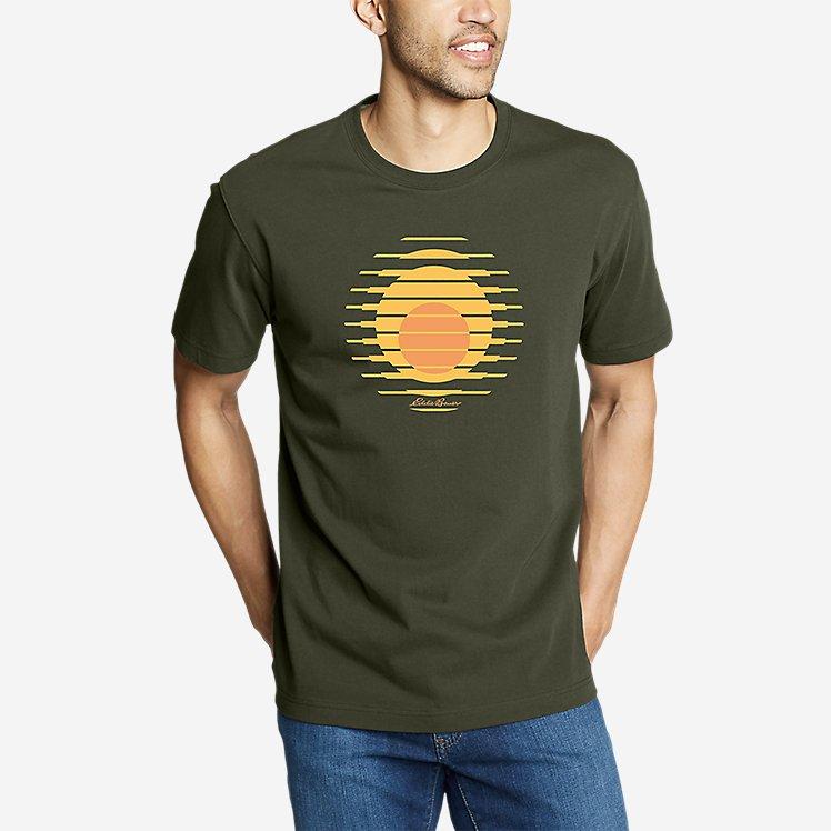 Men's Graphic T-Shirt - Setting Sun large version