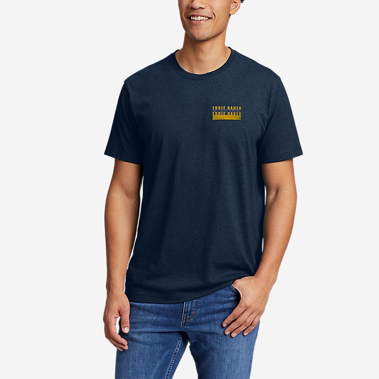 Men's Graphic T-Shirt - Outdoor Layers large version