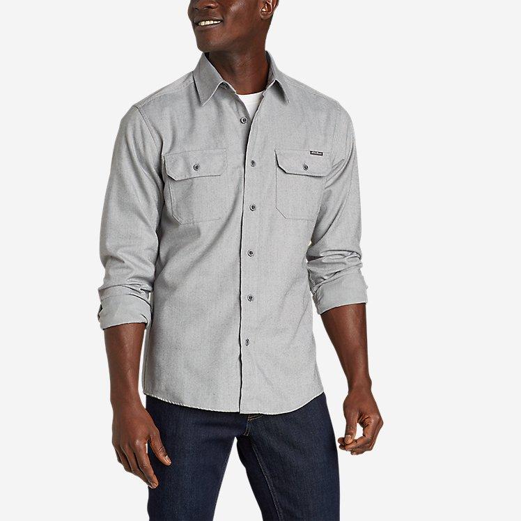 Men's Excavation Flannel Shirt - Solid large version