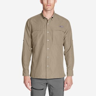 Thumbnail View 1 - Men's Ripstop Guide Long-Sleeve Shirt