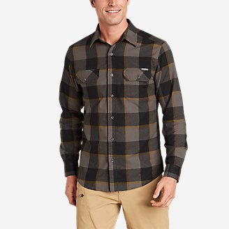 Thumbnail View 1 - Men's Excavation Flannel Shirt - Pattern