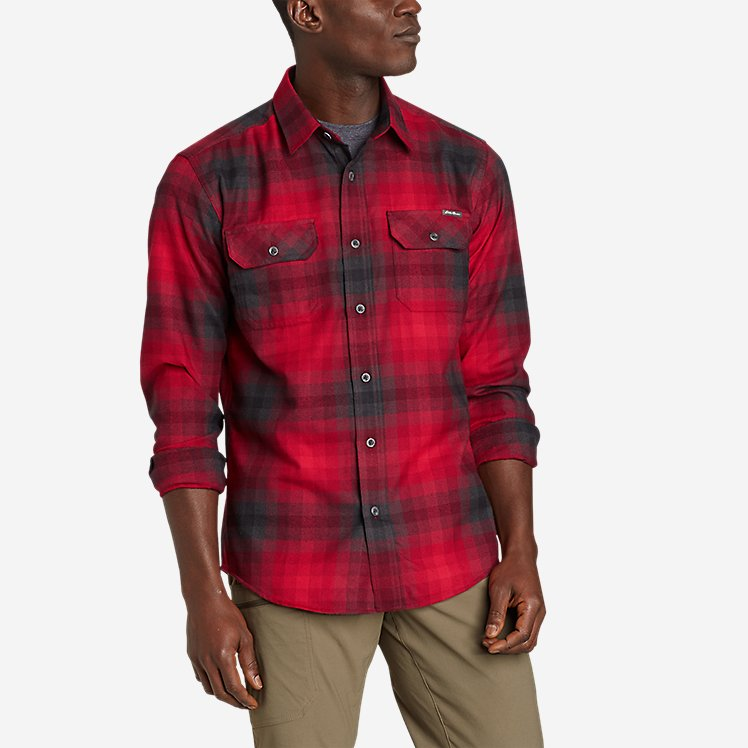Men's Excavation Flannel Shirt - Pattern large version
