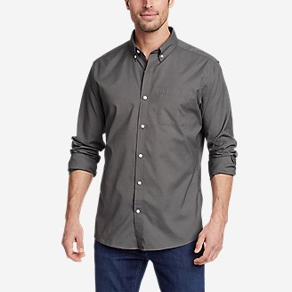 Thumbnail View 1 - Men's Getaway Long-Sleeve Shirt - Relaxed Fit