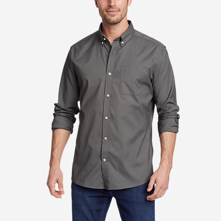 Men's Getaway Long-Sleeve Shirt - Relaxed Fit large version