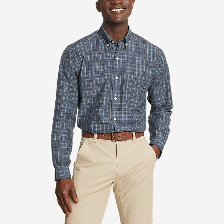 Men's Getaway Long-Sleeve Pattern Shirt - Relaxed Fit large version