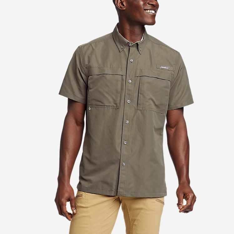 Men's Ripstop Guide Short-Sleeve Shirt large version