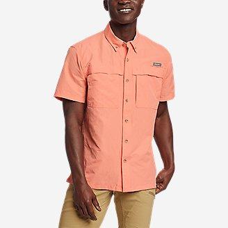 Thumbnail View 1 - Men's Ripstop Guide Short-Sleeve Shirt