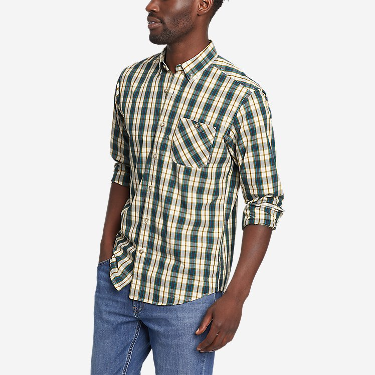Men's Outdoor Poplin Shirt large version