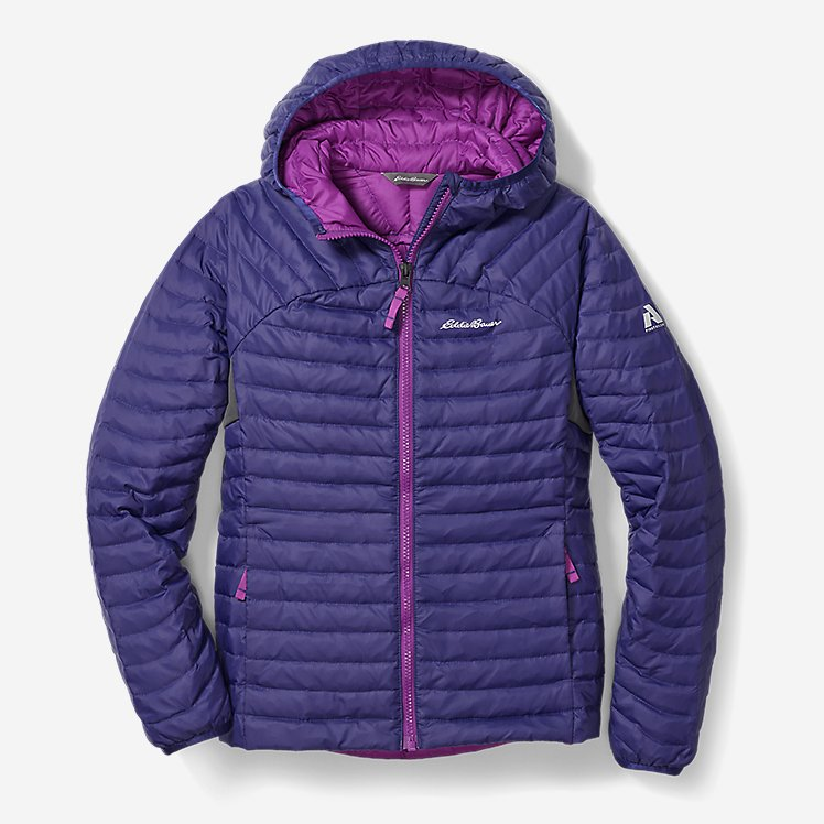 Girls' MicroTherm® Hooded Jacket large version