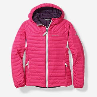 Thumbnail View 1 - Girls' MicroTherm® Hooded Jacket