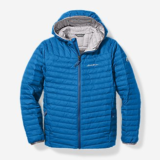 Thumbnail View 1 - Boys' MicroTherm® Hooded Jacket