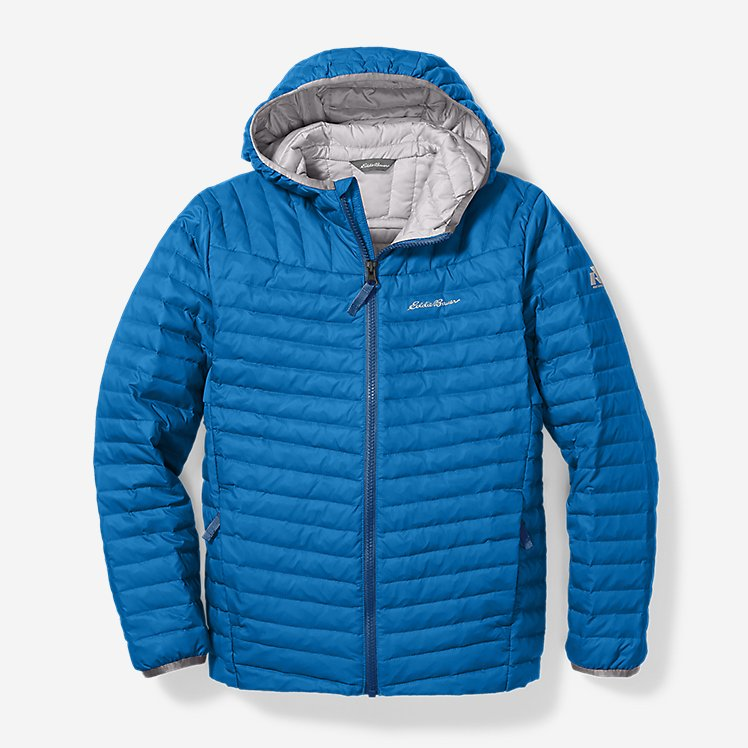 Boys' MicroTherm® Hooded Jacket large version