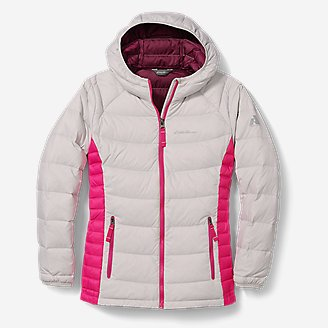 Thumbnail View 1 - Girls' Downlight® Hooded Jacket
