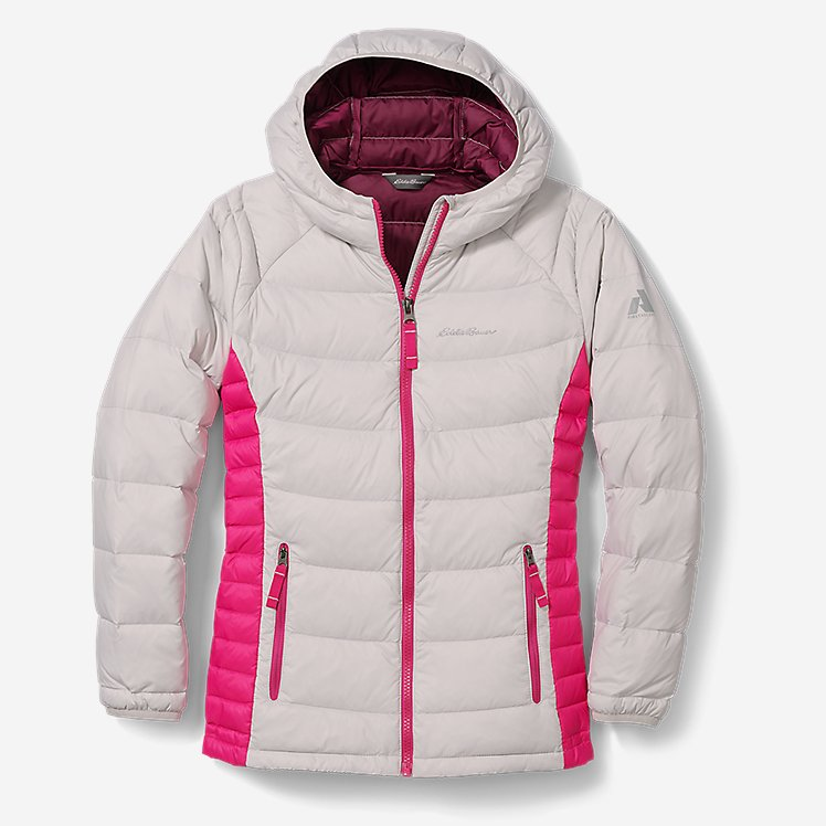 Girls' Downlight® Hooded Jacket large version
