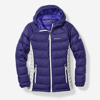 Thumbnail View 1 - Girls' Downlight® Hooded Jacket