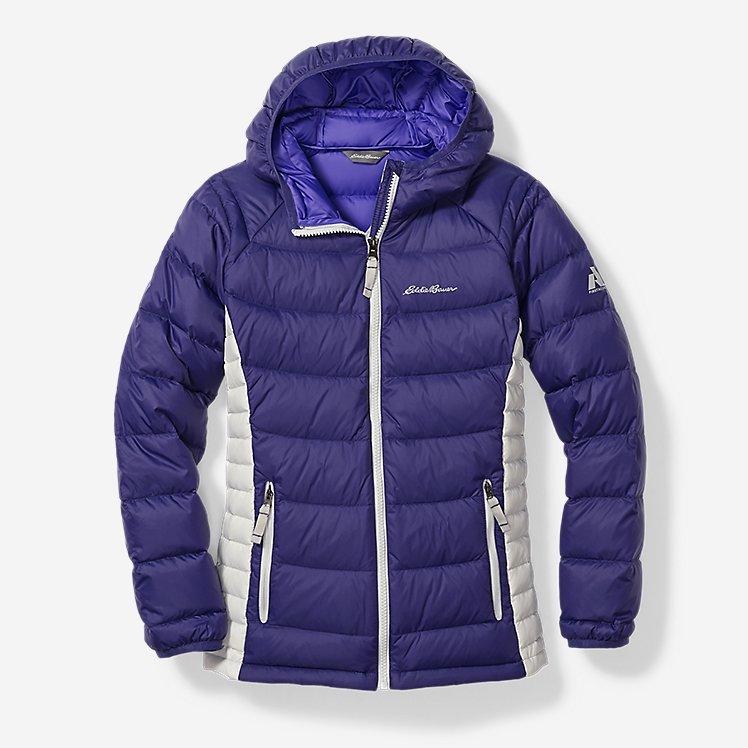 Girls' Downlight® Hooded Jacket large version