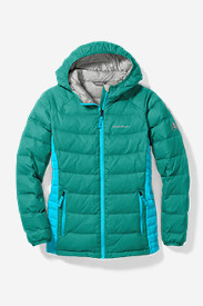 Girls' Downlight® Hooded Jacket