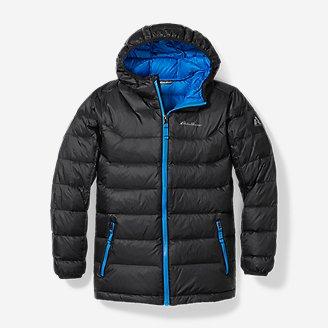Thumbnail View 1 - Boys' Downlight® Hooded Jacket