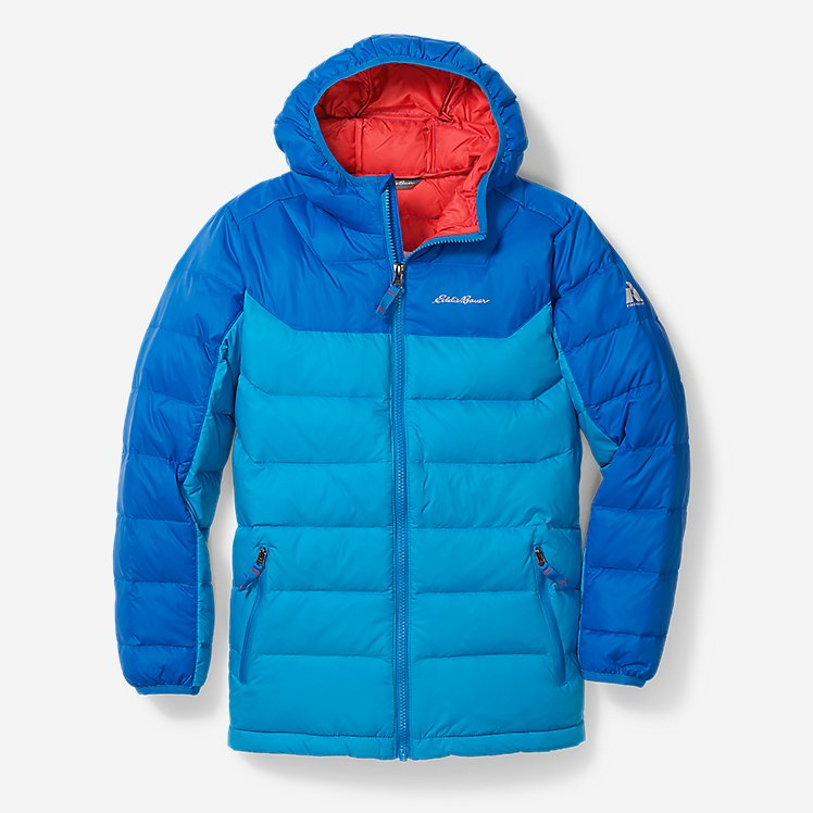 Boys' Downlight® Hooded Jacket large version