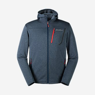 Thumbnail View 1 - Men's High Route Fleece Hoodie