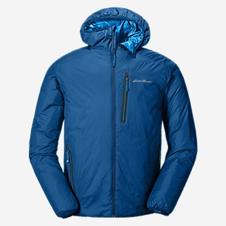 Thumbnail View 1 - Men's EverTherm Down Hooded Jacket
