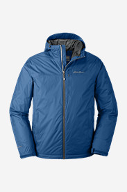 Men's Cloud Cap Insulated Rain Jacket