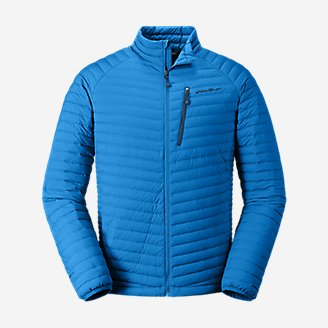 Thumbnail View 1 - Men's MicroTherm® Stretch Down Jacket