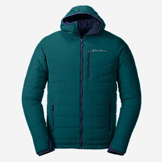 Thumbnail View 1 - Men's IgniteLite Stretch Reversible Hooded Jacket