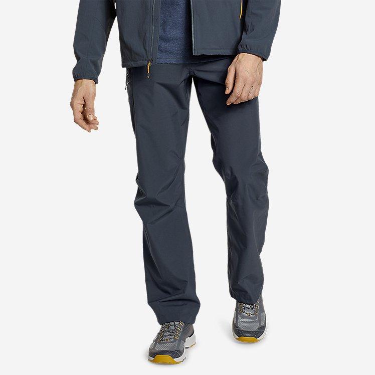 Men's Cloud Cap Stretch Rain Pants large version